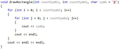 with default parameters ++, arguments default c ++, c++